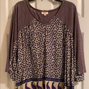 Umgee purple top